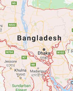 Google Regional Map